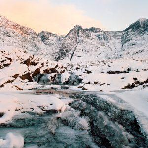 Fairy Pools Frozen Scotland