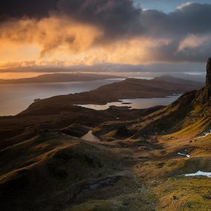 Old Man of Storr Isle of Skye sunrise